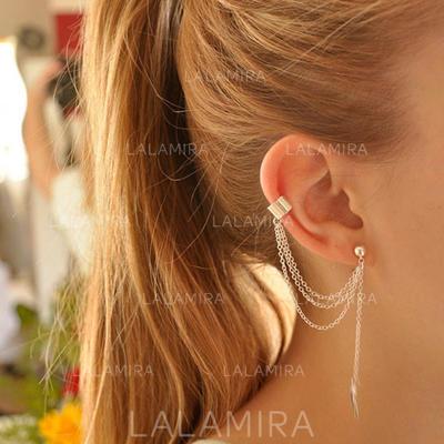 Earrings Alloy Pierced Ladies' Fashional Wedding & Party Jewelry (011166356)