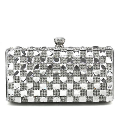 "Clutches Wedding/Ceremony & Party Clip Closure Elegant 6.3""(Approx.16cm) Clutches & Evening Bags (012184951)"