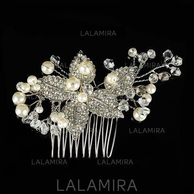 "Combs & Barrettes Wedding/Special Occasion Alloy 2.76""(Approx.7cm) 3.35""(Approx.8.5cm) Headpieces (042156344)"