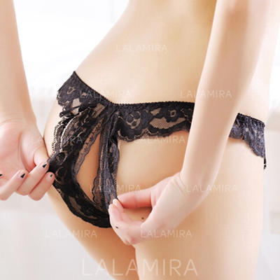 Panties Casual/Wedding/Special Occasion Feminine Lace/Chinlon Sexy Lingerie (041192932)
