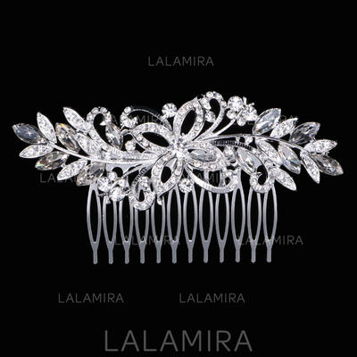 "Combs & Barrettes Wedding Rhinestone/Alloy 4.33""(Approx.11cm) 2.17""(Approx.5.5cm) Headpieces (042158426)"