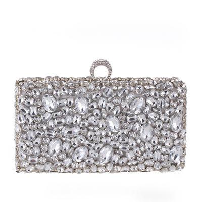 Nydelig Krystall / Rhinestone Mote Håndvesker (012139045)