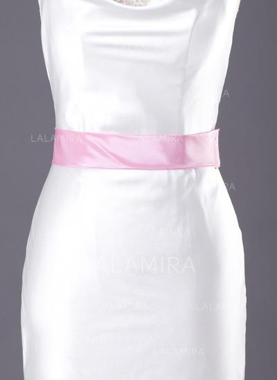 Flower Girl Taffeta Sash Simple Sashes & Belts (015190938)