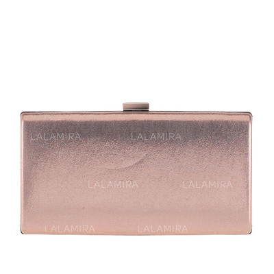 Fashion Handbags Ceremony & Party Patent Leather Clip Closure Elegant Clutches & Evening Bags (012187738)