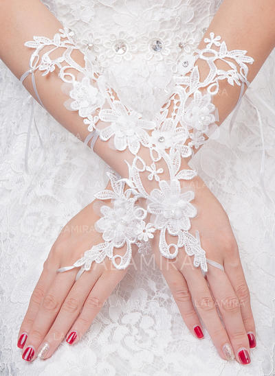 Tulle Ladies' Gloves Bridal Gloves Fingerless 20cm(Approx.7.87inch) Gloves (014192234)