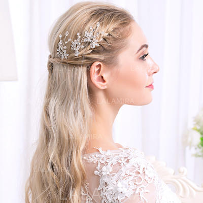 Half-up, half-down knot hairstyle for prom