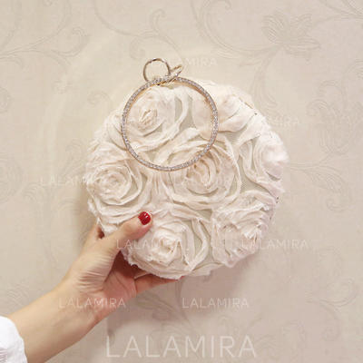 "Clutches Wedding/Ceremony & Party/Casual & Shopping/Office & Career Nylon Elegant 7.00"" (Approx.18cm) Clutches & Evening Bags (012188065)"