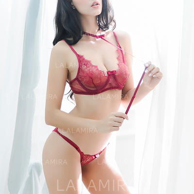 Lingerie Set Casual/Wedding/Special Occasion Lace Sexy Panties/Bra Lingerie (041193504)