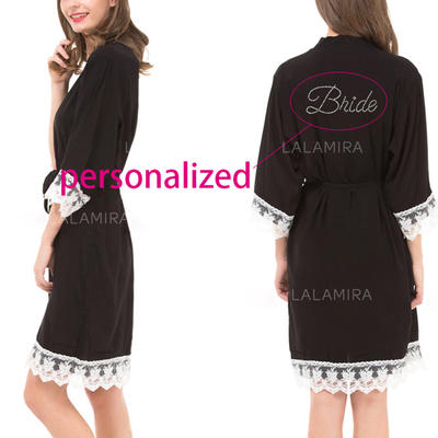 Sleepwear Casual/Wedding/Special Occasion Bridal/Feminine/Fashion Cotton Elegant Lingerie (041193308)