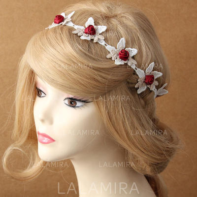 """Headbands Special Occasion/Casual Lace 16.14""""(Approx.41cm) 2.17""""(Approx.5.5cm) Headpieces (042156429)"""