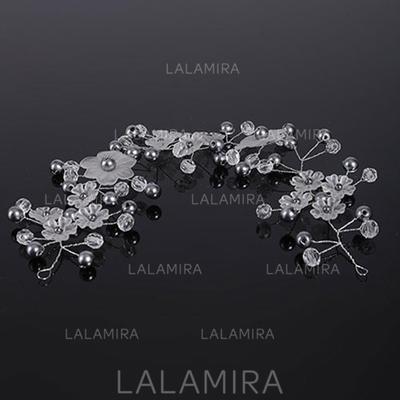 "Headbands Wedding Imitation Pearls 11.8""(Approx.30cm) 3.15""(Approx.8cm) Headpieces (042159033)"