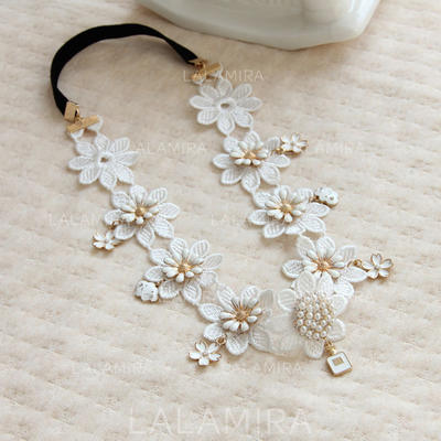 """Headbands Wedding/Special Occasion/Casual Alloy/Lace 15.75""""(Approx.40cm) 1.38""""(Approx.3.5cm) Headpieces (042156426)"""