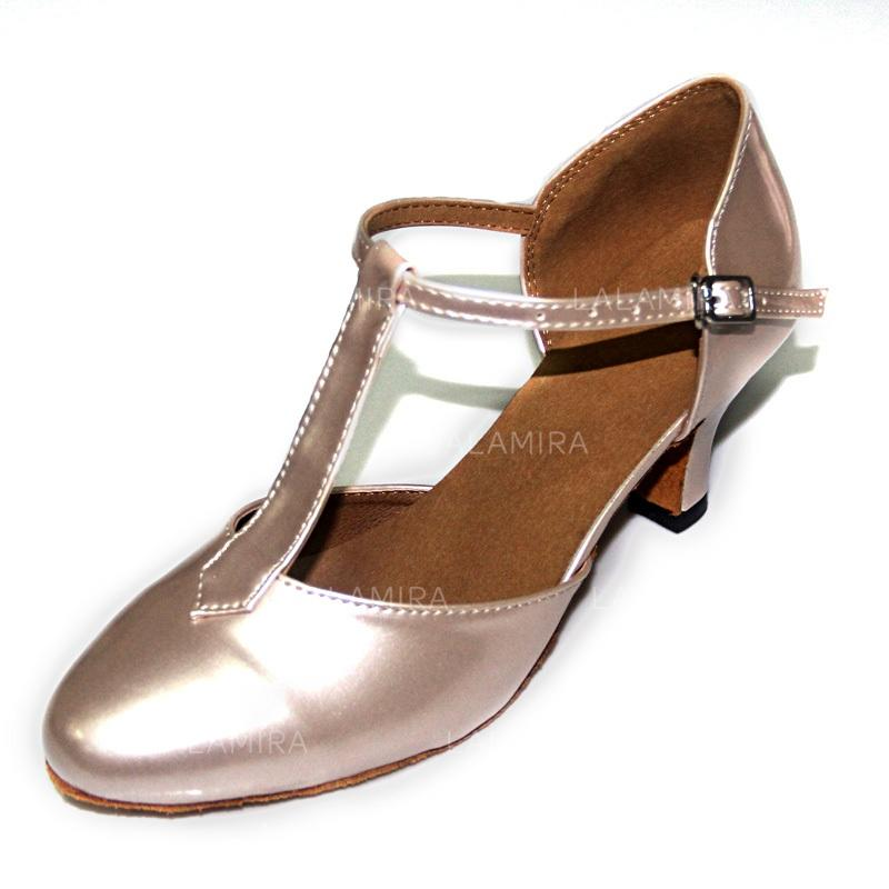 9eb3bd3fb304 Women s Ballroom Pumps Patent Leather With T-Strap Dance Shoes (053181278). Loading  zoom