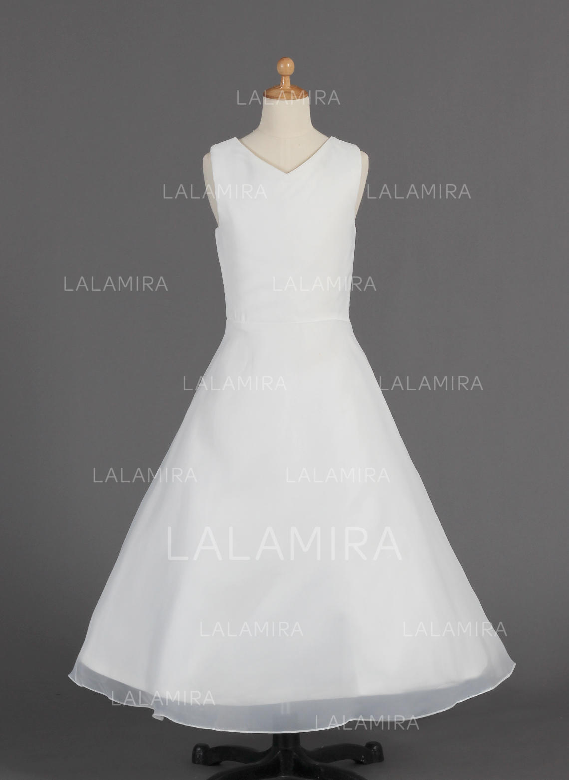 4cb1affd7ca Floor-length Sleeveless Organza With Beautiful Flower Girl Dresses  (010014659). Loading zoom