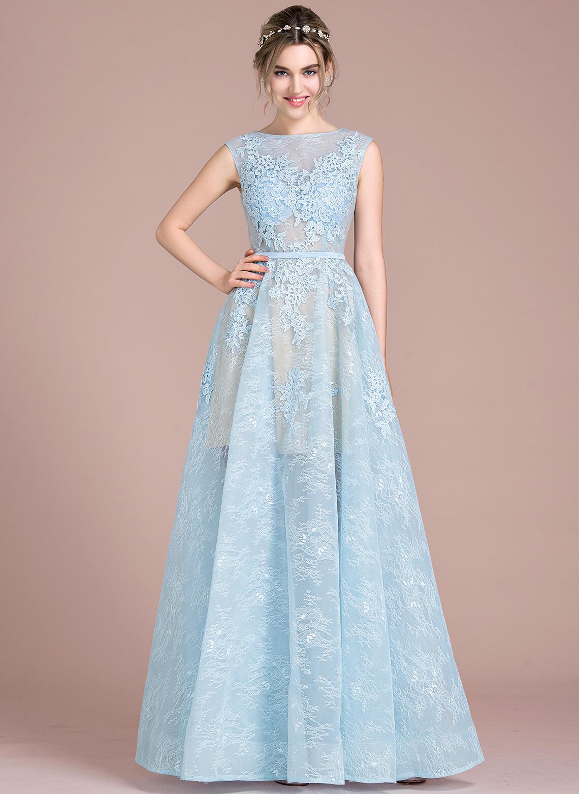 Long Summer Prom Dress