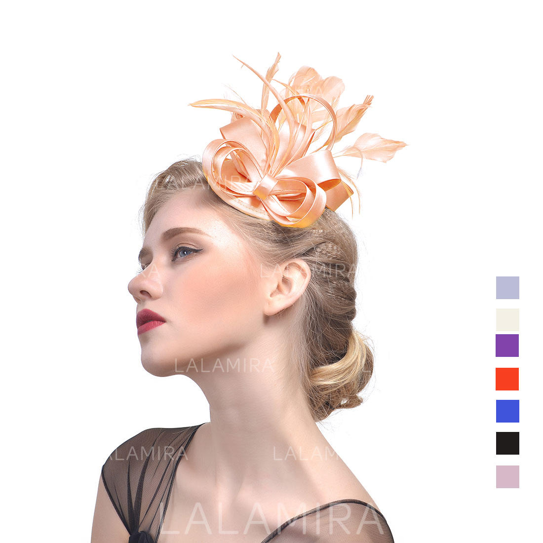 8bca4c46bacfd Cambric With Feather Fascinators Vintage Ladies' Hats (196194680). Loading  zoom