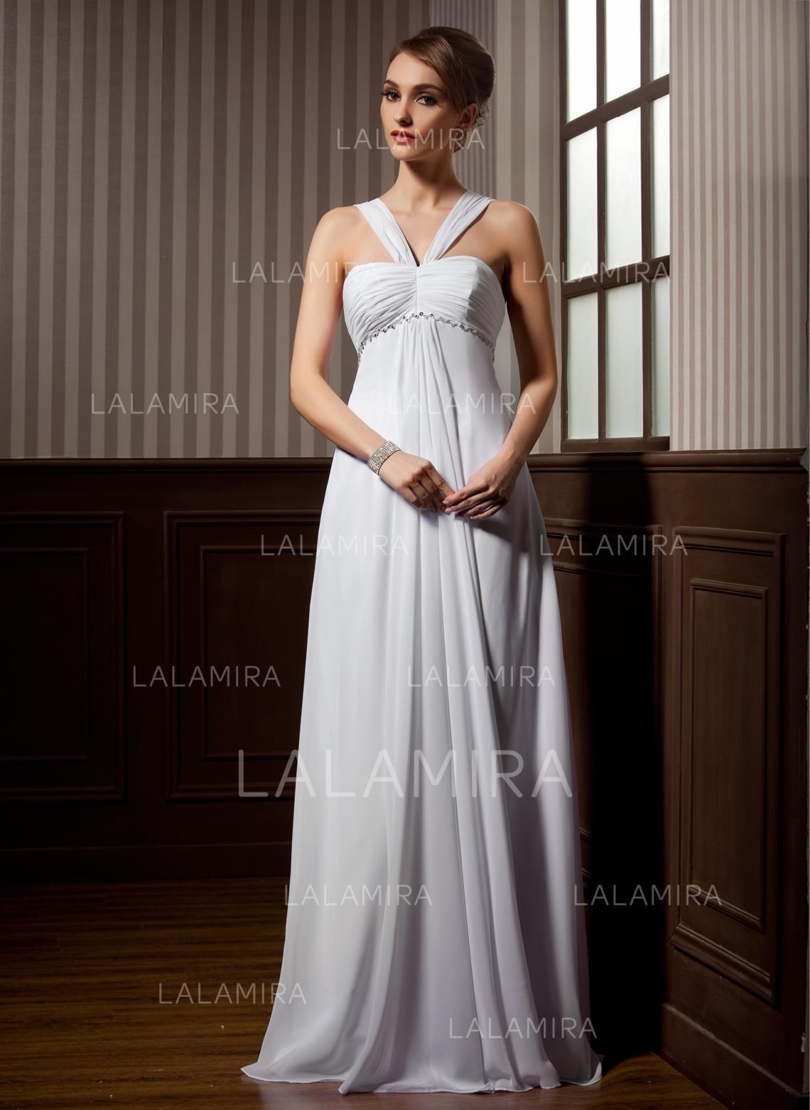 b05391eb842 Standard Grande taille Chérie Robe Empire - Mousseline de soie Robes de  mariée (002211257). Loading zoom