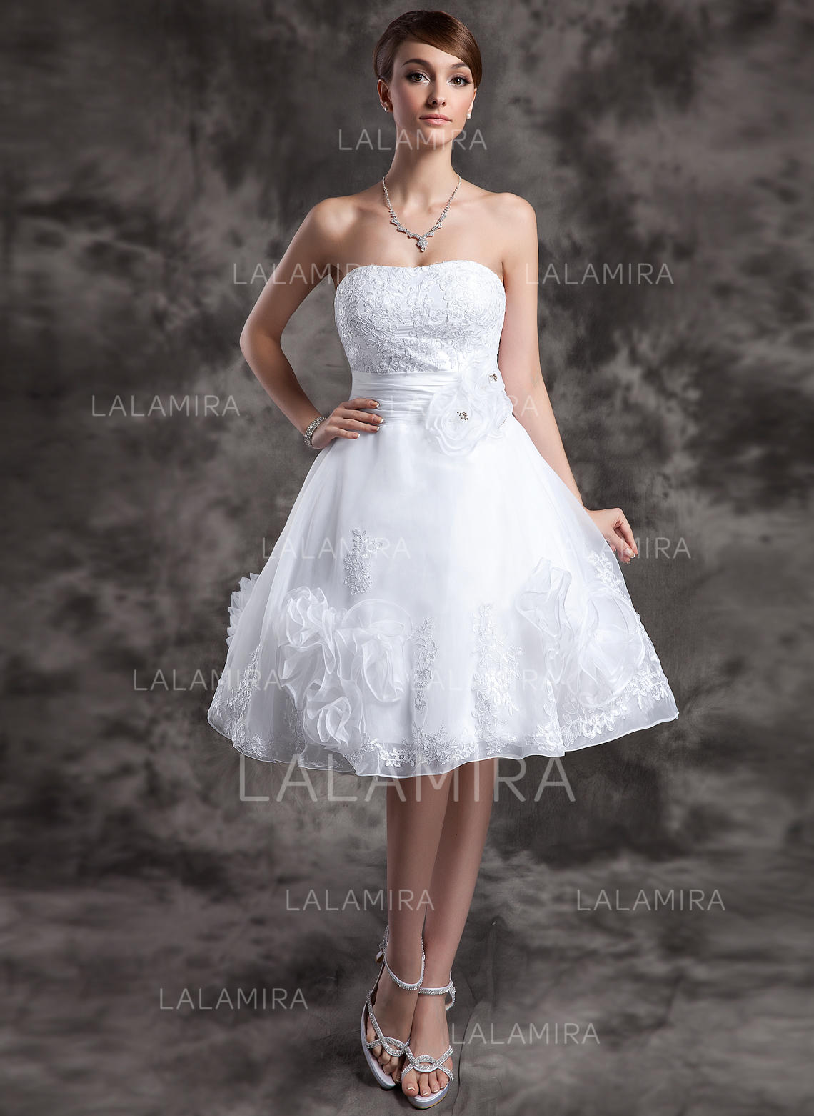Sweetheart A Lineprincess Wedding Dresses Organza Lace Beading
