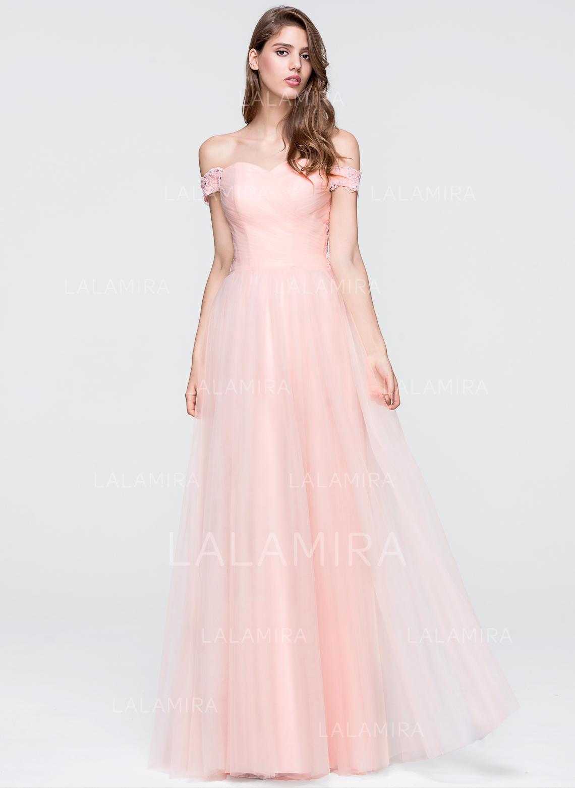 4cdeae620 Vestidos princesa/ Formato A Vestidos de baile Glamorouso Longos  Off-the-ombro Sem. Loading zoom. Carregando
