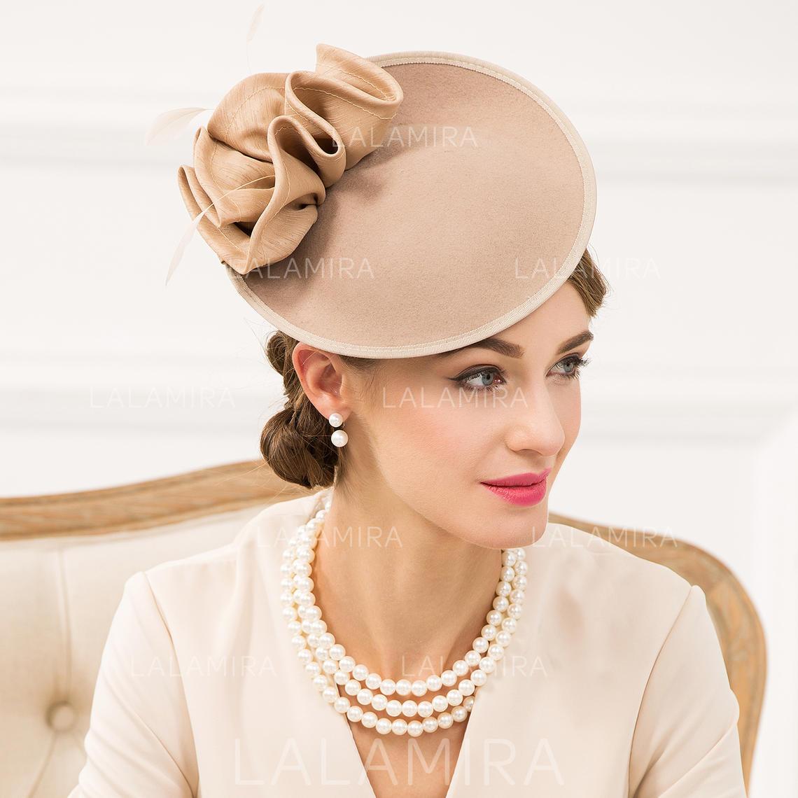 a84678c9efa24 Wool With Silk Flower Fascinators Vintage Ladies' Hats (196194352). Loading  zoom