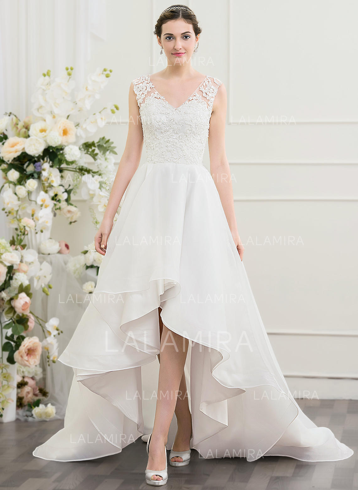 Sweetheart A Lineprincess Wedding Dresses Organza Beading Sequins