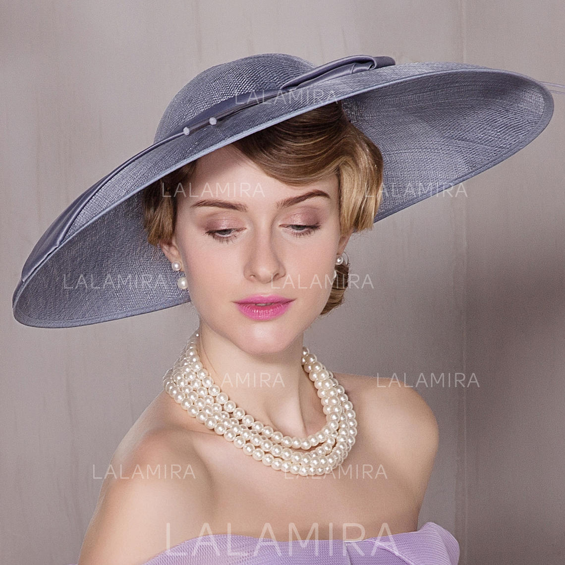 7326d97d530 Cambric Bowler Cloche Hat Lovely Ladies  Hats (196194590). Loading zoom