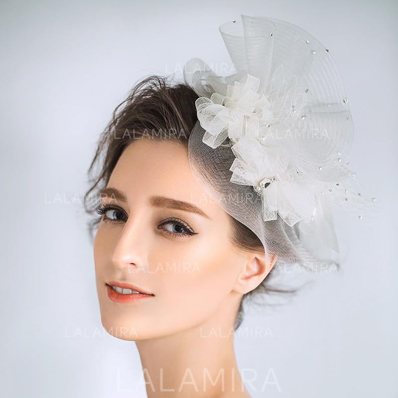 Fascinators Wedding Special Occasion Rhinestone Imitation Pearls Net Yarn  Unique Headpieces (042157278. Loading zoom 70ca1949dc9