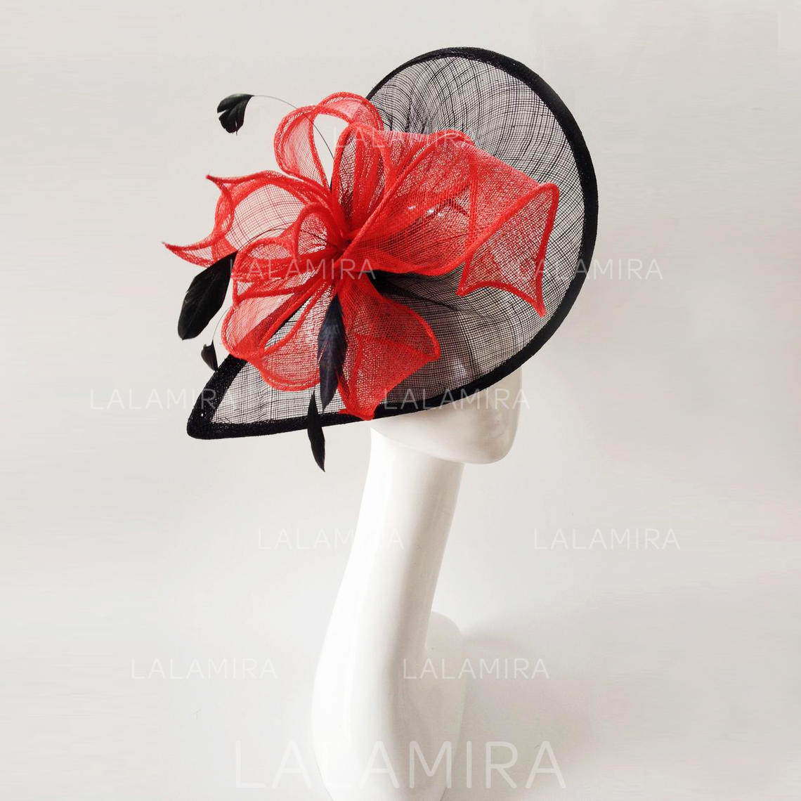 2e87803a91875 Feather/Net Yarn With Feather Fascinators Vintage Ladies' Hats (196194429).  Loading zoom