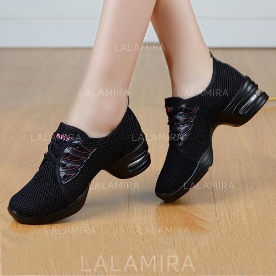 Naisten Käsilaukkuja : Naisten tanssi sneakers kangas jossa
