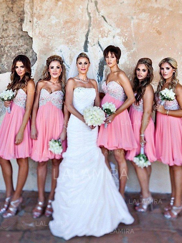 short wedding dress with tulle skirt