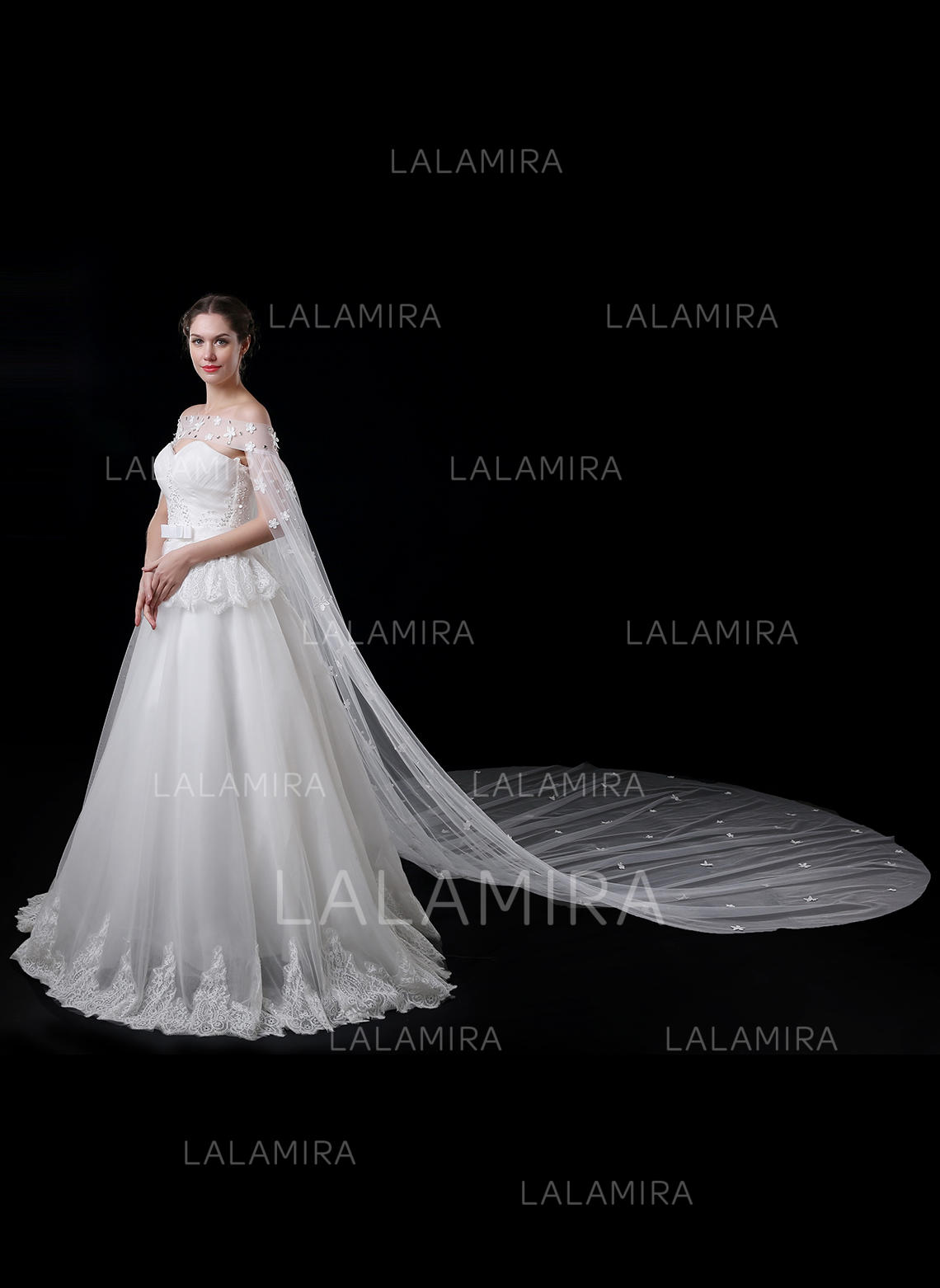 Wrap Wedding Lace Tulle With Flower Black Burgundy Chagne Dark Navy Ivory Sky Blue Lilac Royal Loading Zoom: Lilac Silver Wedding Dresses At Websimilar.org