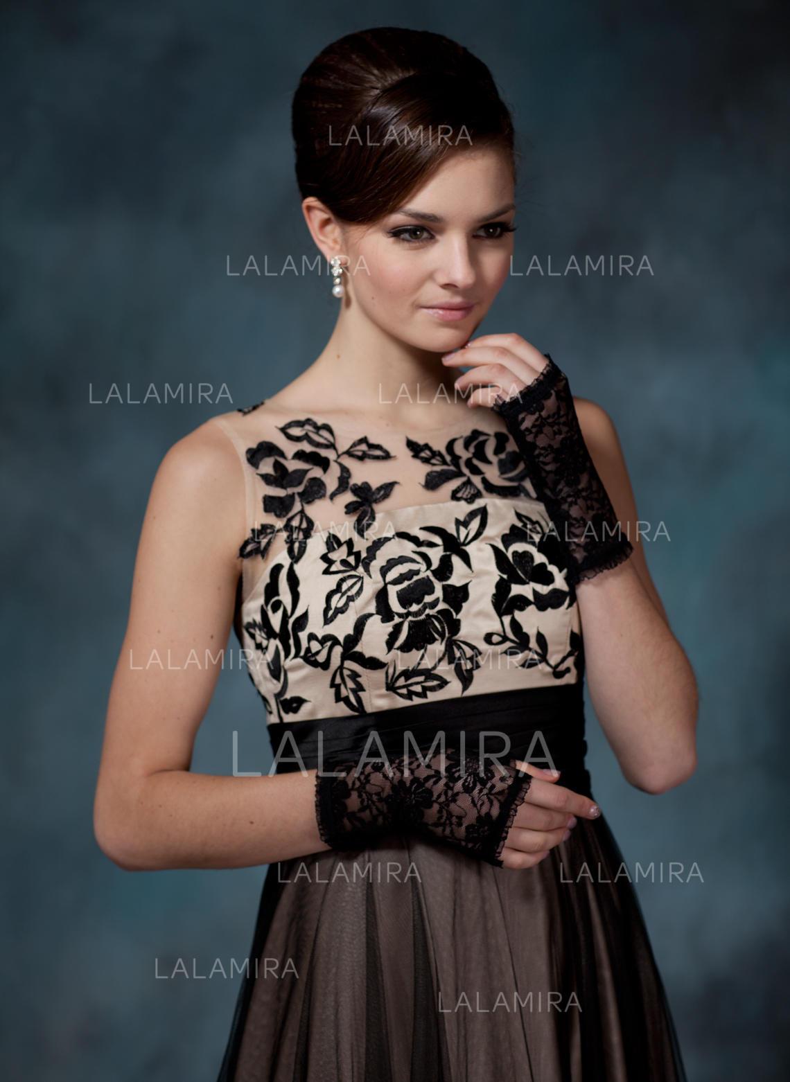 cac130d6cc8d Lace Wrist Længde Party Fashion Handsker (014020531). Loading zoom