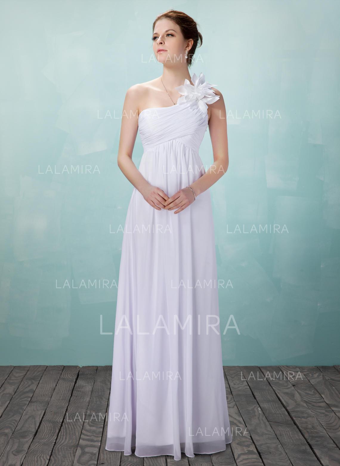45f2e5edb Lujoso Corte imperial con Gasa Vestidos de novia (002004475). Loading zoom