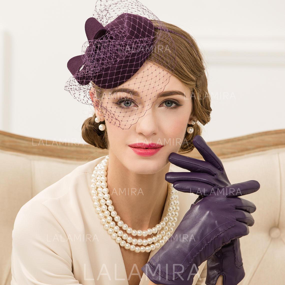 c48a4837ea0f5 Wool With Tulle Fascinators Vintage Ladies' Hats (196194269). Loading zoom