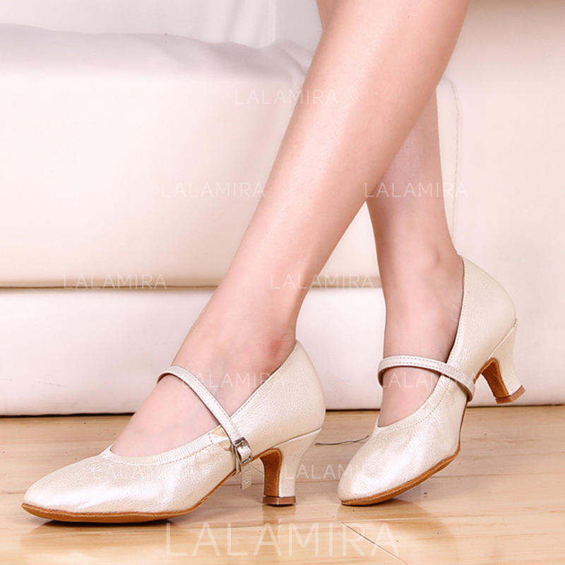 Character Shoes Heels Leatherette