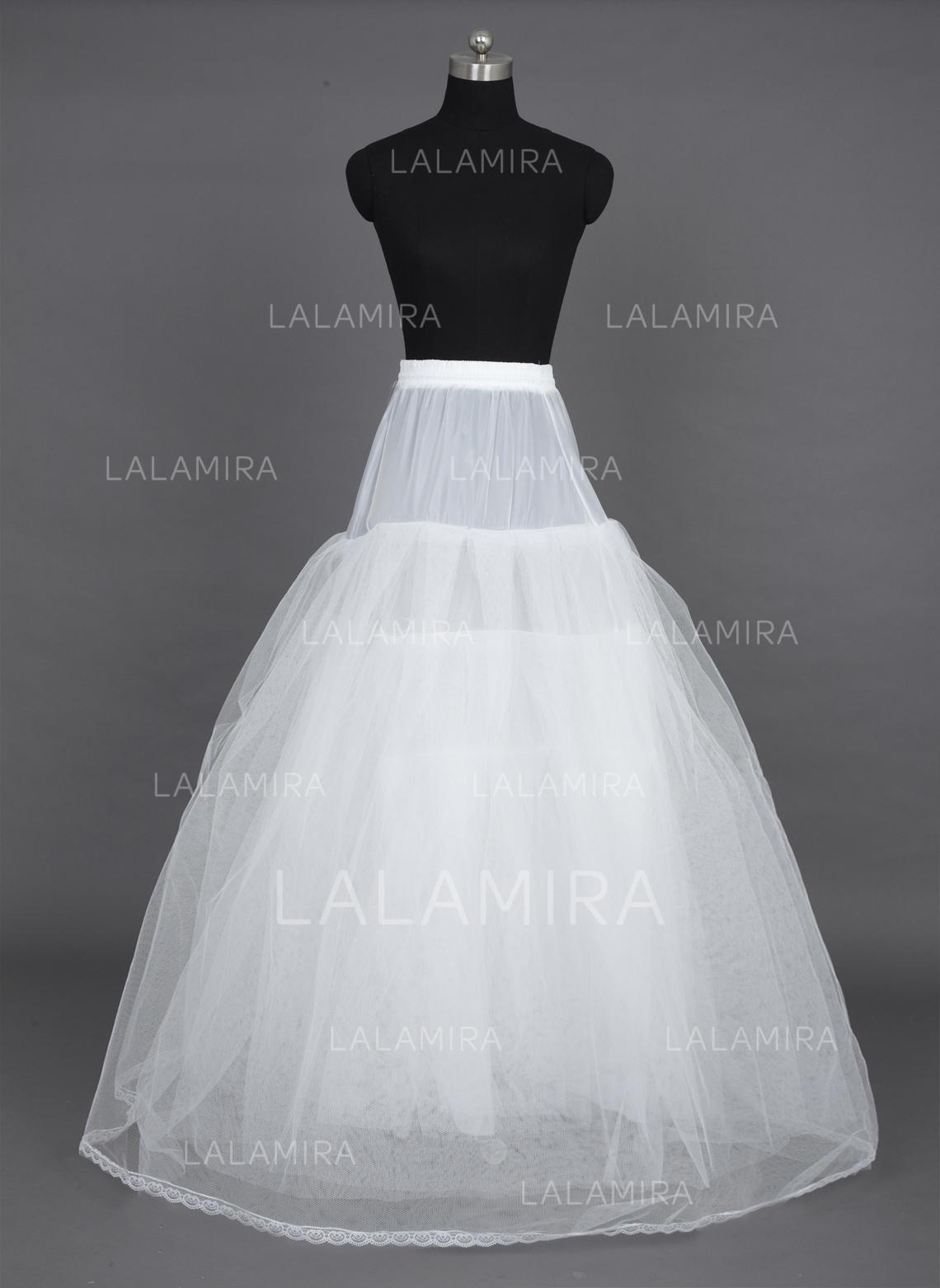 Petticoats Floor-length Nylon/Tulle Netting A-Line Slip/Ball Gown ...