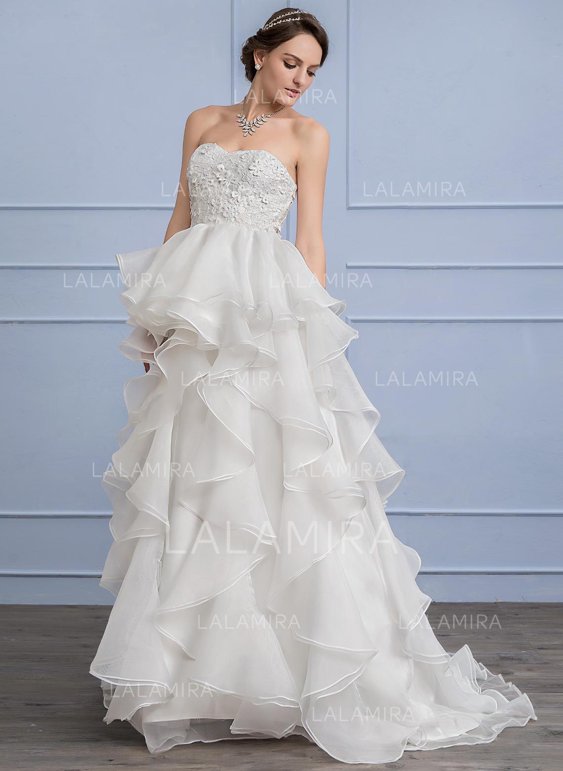 Sleeveless Princess Wedding Dresses