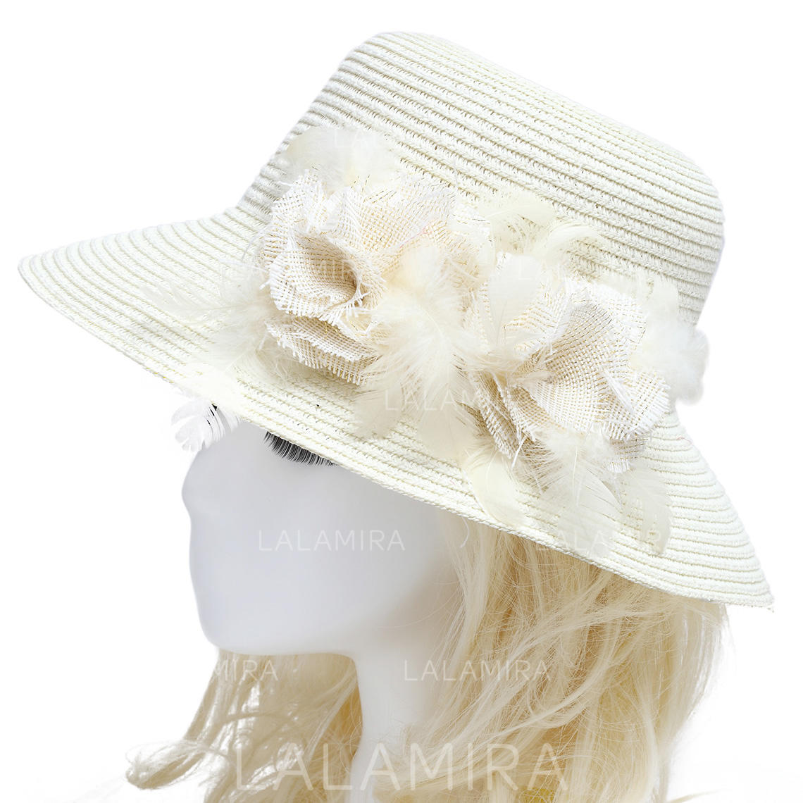 Hats Wedding Outdoor Rattan Straw 5.71