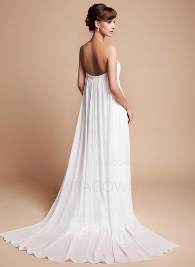enkle uformelle brudekjoler