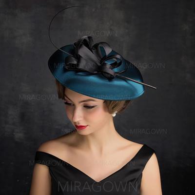 Feather/Fil net/Tulle avec Feather Chapeaux de type fascinator Style Classique Dames Chapeau (196105114)