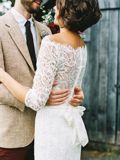robes de mariée robe de bal à col roulé