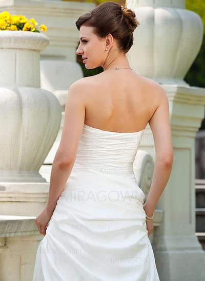 en linje te lengde brudekjoler
