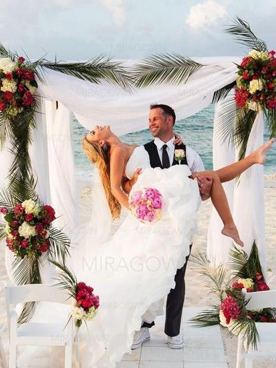elegante brudekjoler med ermer
