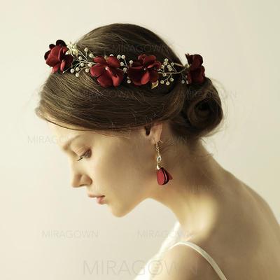 """Bandeaux Mariage/Occasion spéciale/Fête/la photographie d'art Alliage 12.60""""(Approximative 32cm) 1.97""""(Approximative 5cm) Accessoires de coiffure (042138664)"""