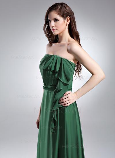 robes de soirée courtes vertes