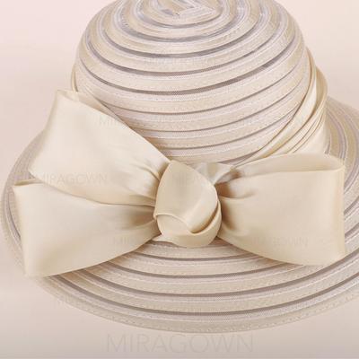 Batiste avec Bowknot Chapeau melon / Chapeau cloche Glamour Dames Chapeau (196120436)