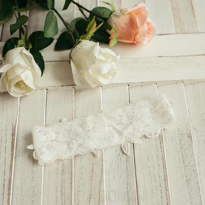 Jarretière Femmes Mariage/Décontractée/Robe/Occasion spéciale/Vêtement de tous les jours Satiné avec Une fleur Jarretières (104093879)