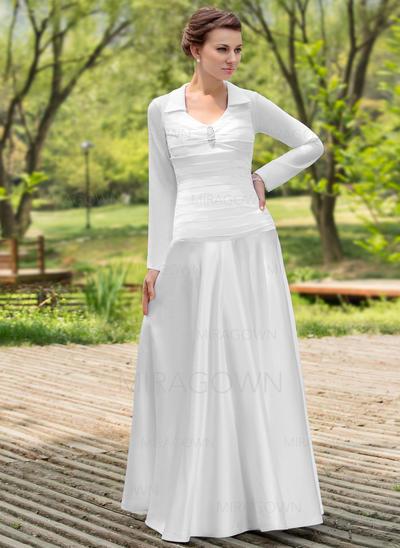 gris mère des robes de mariée