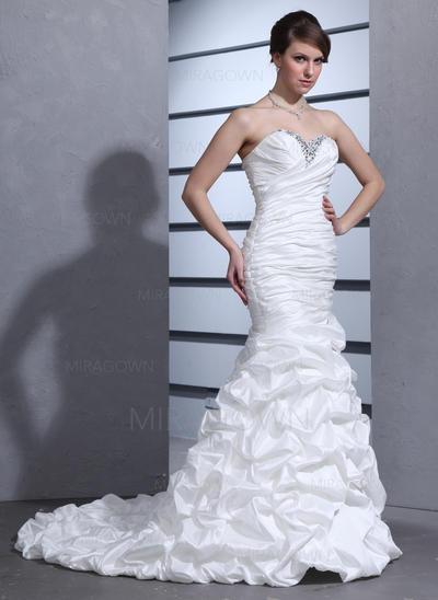 2021 av skulder brudekjoler
