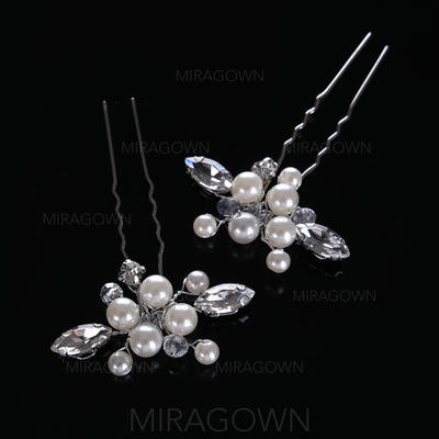 Filles Style Classique De faux pearl épingles à cheveux (Lot de 2) (042116286)
